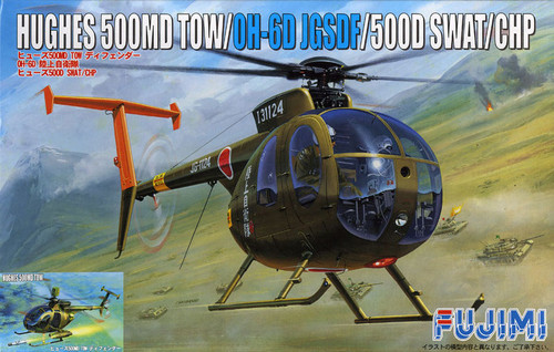 Fujimi H31 Hughes 500MD TOW OH-6D JGSDF 1/48 Scale Kit