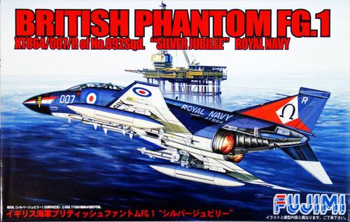 Fujimi H32 British Phantom FG.1 Silver Jubilee 1/72 Scale Kit
