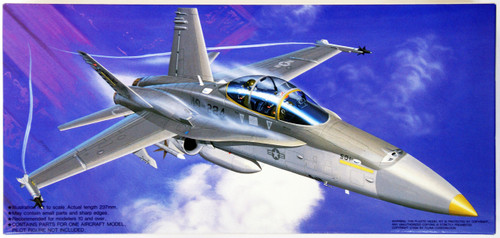 Fujimi F06 F/A-18D Hornet USMC Bengals 1/72 Scale Kit 4968728720159 720159