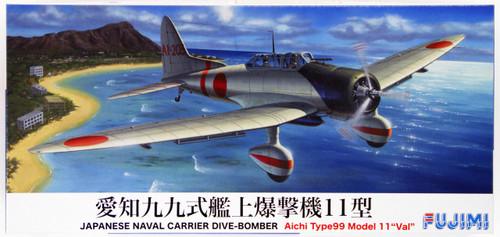 Fujimi F07 IJN Carrier Dive-Bomber Aichi Type 99 Model 11 VAL 1/72 model Kit 722450