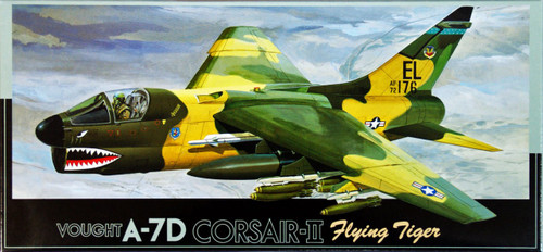 Fujimi F11 Vought A-7D CORSAIR-II Flying Tiger 1/72 Scale Kit