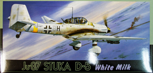 Fujimi F16 Ju-87 STUKA D-5 White Milk 1/72 Scale Kit