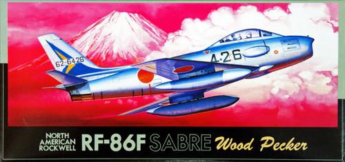 Fujimi F20 JASDF RF-86F SABRE Wood Pecker 1/72 Scale Kit