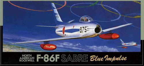 Fujimi F21 F-86F SABRE Blue Impulse 1/72 Scale Kit