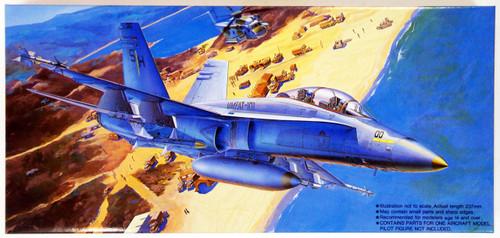 Fujimi F48 F/A-18B Hornet SHARP SHOOTERS 1/72 Scale Kit