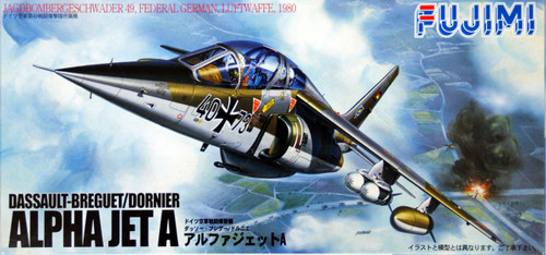 Fujimi F52 German Air Force ALPHA JET A 1/72 Scale Kit