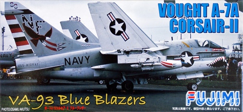 Fujimi F56 Vought A-7A Corsair-II BLUE BLAZERS 1/72 Scale Kit