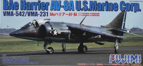 Fujimi F57 BAe Harrier AV-8A US Marine Corp. 1/72 Scale Kit
