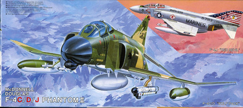 Fujimi K1 F-4C/D/J Phantom II 1/72 Scale Kit