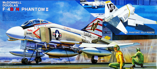 Fujimi K4 F-4B/N Phantom II US Navy 1/72 Scale Kit