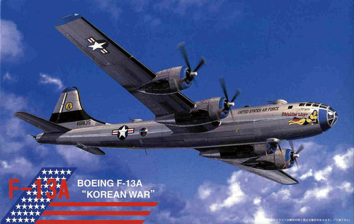 Fujimi No.09 Boeing F-13A Korean War 1/144 Scale Kit
