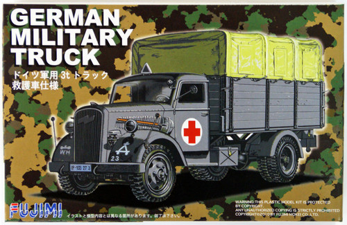 Fujimi 72M1 German Military Truck 1/72 Scale Kit
