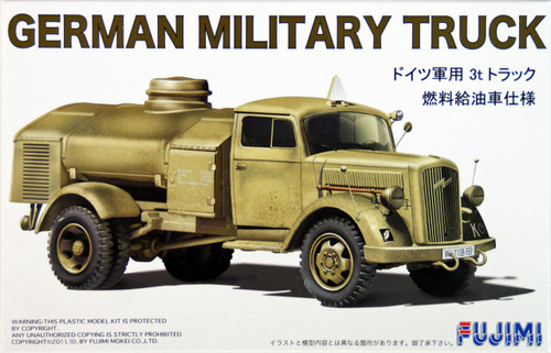 Fujimi 72M5 German Military Truck (Tanker) 1/72 Scale Kit