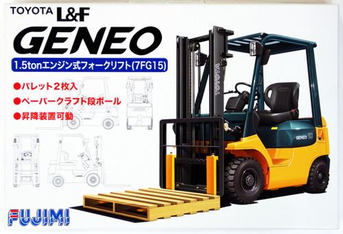 Fujimi GT19 011684 Garage & Tool Series Toyota L&F Geneo Forklift 1/32 Scale Kit