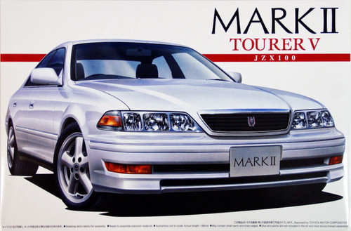 Aoshima 01608 Toyota Mark II Tourer V (JZX100) 1/24 Scale Kit