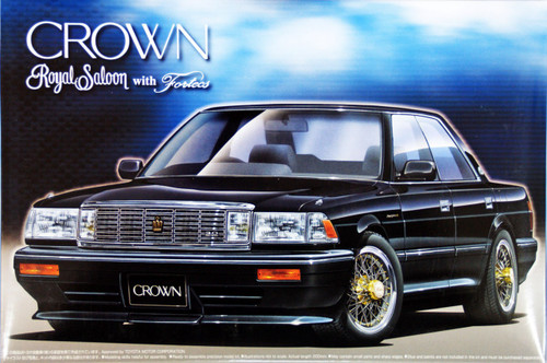 Aoshima 01738 Toyota Crown 3.0 Royal Saloon (MS137) 1/24 Scale Kit