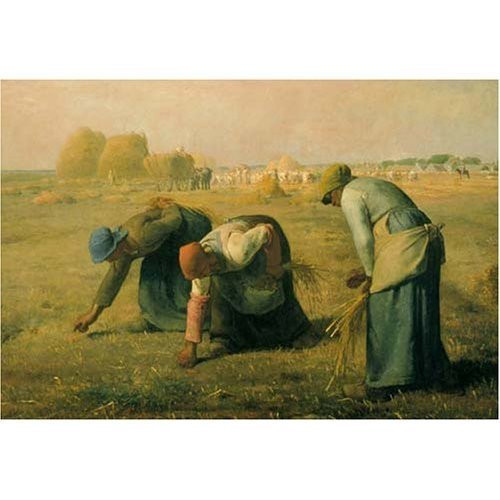 Epoch Jigsaw Puzzle 25-053 The Gleaners Jean-Francois Millet (300 Pieces)