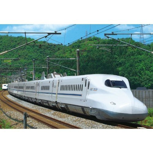 Epoch Jigsaw Puzzle 26-255 Shinkansen Series N700 Sakura (300 Pieces)