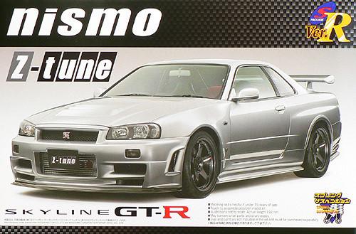 Aoshima 42502 Nissan Skyline GT-R NISMO Z-tune 1/24 Scale Kit