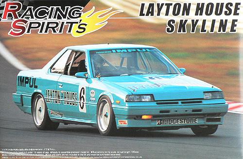 Aoshima 42816 Nissan Skyline DR30 Leyton House 1/24 Scale Kit