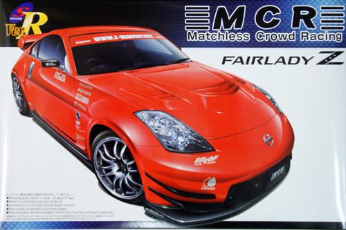 Aoshima 43233 Nissan Fairlady Z (Z33) MCR 1/24 Scale Kit