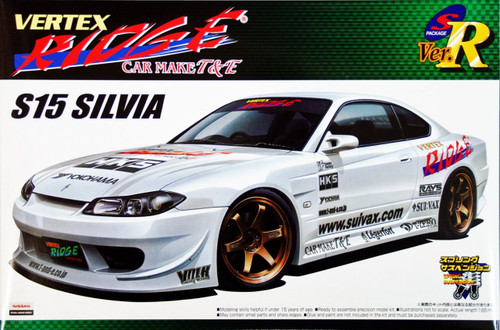Aoshima 43516 Nissan Silvia (S15) VERTEX RIDGE VERSION 1/24 Scale Kit