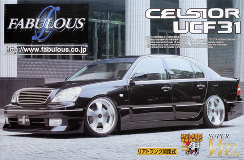 Aoshima 45039 Toyota Celsior UCF31 Fabulous 1/24 Scale Kit