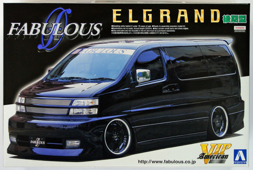Aoshima 45619 Nissan ElGrand Fabulous Design 1/24 Scale Kit