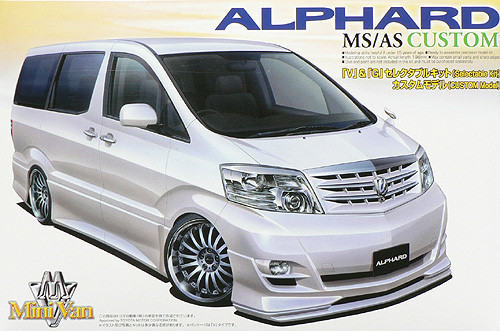 Aoshima 46791 Toyota Alphard MS/AS (Custom Model) 1/24 Scale Kit