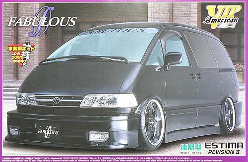 Aoshima 46968 Toyota Estima Fabulous Design 1/24 Scale Kit