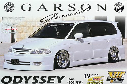 Aoshima 47637 Honda Odyssey (RA6) Garson Geraid Design 1/24 Scale Kit