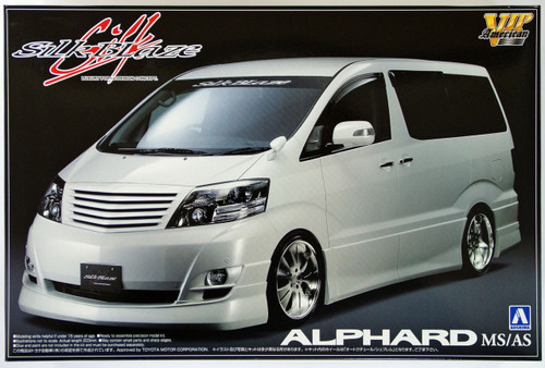 Aoshima 47644 Toyota Alphard MS/AS Silk Blaze 1/24 Scale Kit
