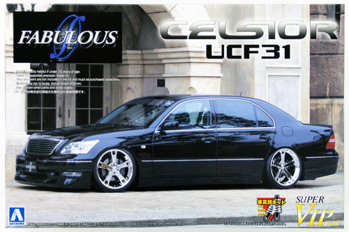 Aoshima 47729 Toyota Celsior UCF31 Fabulous 1/24 Scale Kit