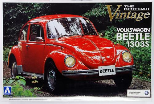 Aoshima 47781 Volkswagen Beetle 1303S 1/24 Scale Kit