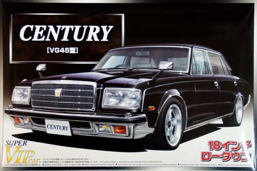 Aoshima 47927 Toyota Century (VG45) 18inch Low Down 1/24 Scale Kit