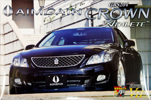 Aoshima 48740 Toyota Crown Athlete (GRS204) Aimgain Euro Edition 1/24 Scale Kit