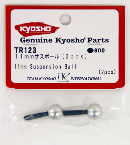 Kyosho TR123 11mm Suspension Ball(2pcs)