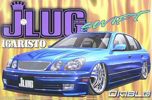 Aoshima 49945 Toyota Aristo J-LUG Swift Design 1/24 Scale Kit