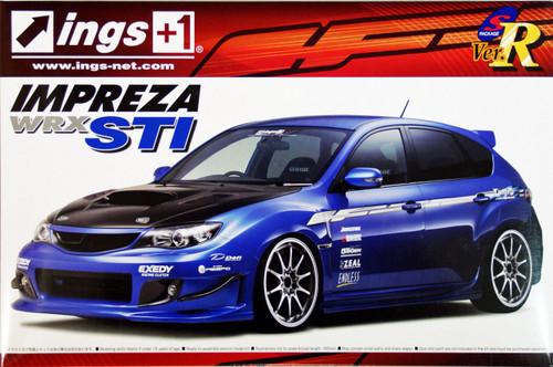 Aoshima 50545 Subaru GRB Impreza WRX STI ings Version 1/24 Scale Kit