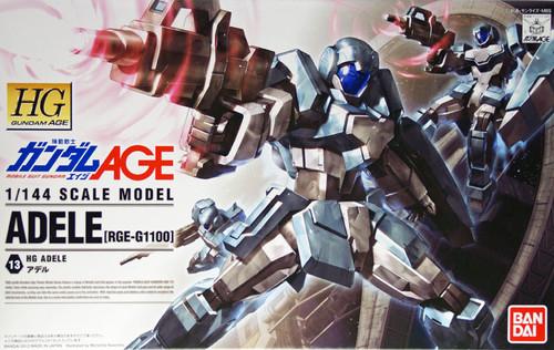 Bandai Gundam HG AGE-13 ADELE (RGE-G1100) 1/144 Scale Kit
