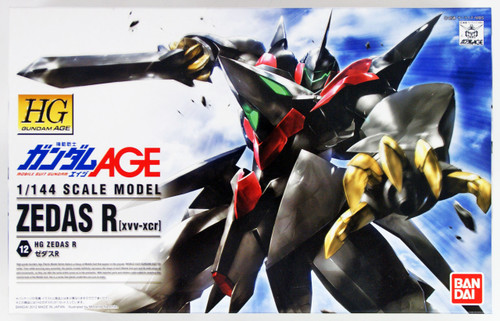 Bandai Gundam HG AGE-12 ZEDAS R (XVV-XCR) 1/144 scale kit