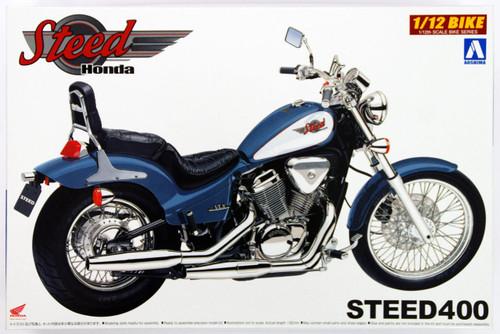 Aoshima Naked Bike 16 46982 Honda Steed 400 1/12 Scale Kit