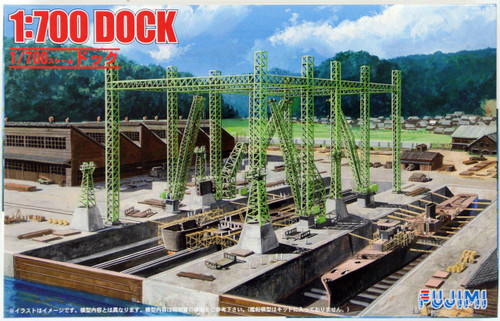 Fujimi 4968728430881 Dock 1/700 Scale Kit