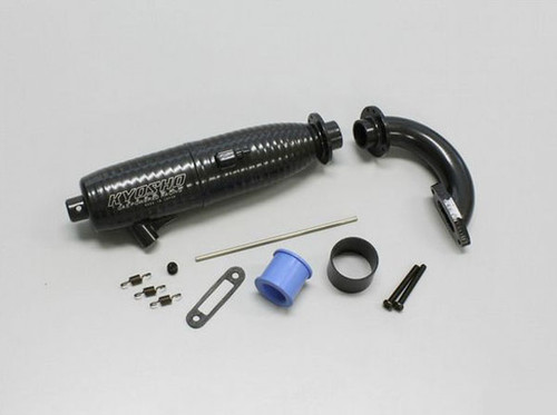 Kyosho VZW301 SC Cyclonic Muffler Set(7?/For exhaust side/SIII Evo./SIII)