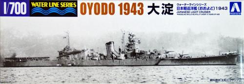 Aoshima Waterline 41734 IJN Japanese Light Cruiser OYODO 1/700 Scale Kit