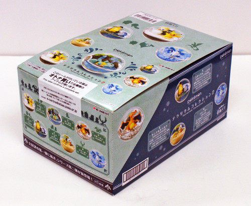 Re-ment 203935 'Pokemon Terrarium Collection 2' 6 Figure Complete set