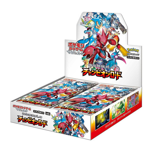 Pokemon Card Game SM6b Sun & Moon Enhanced Booster Pack Champion Road BOX