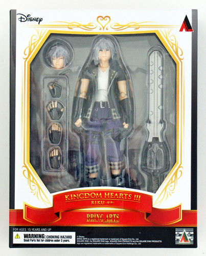 Square Enix Bring Arts Kingdom Hearts III Riku Action Figure