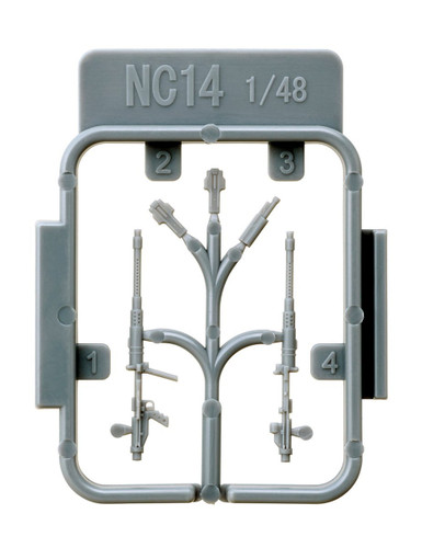 Fine Molds NC14 MG131 13mm MG (IJN Type 2 MG) 1/48 scale kit