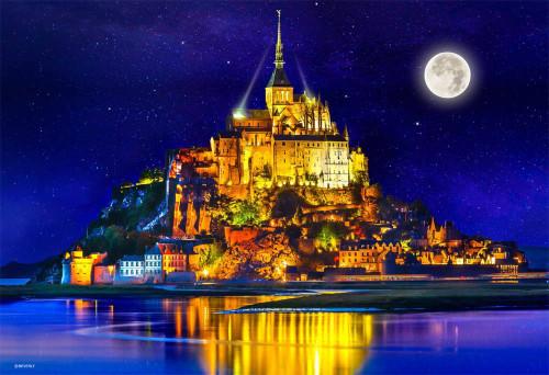 Beverly Jigsaw Puzzle M81-875 World Heritage Site Mont Saint-Michel (1000 S-Pieces)